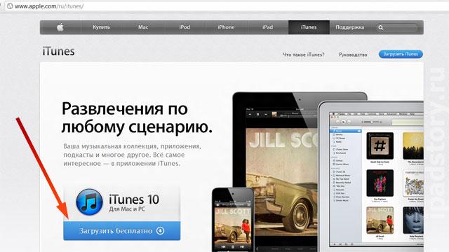 iTunes скачать бесплатно на русском языке для Windows