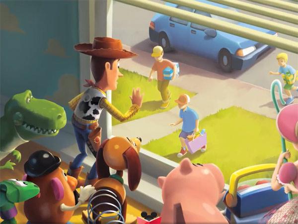 ToyStory на iPad