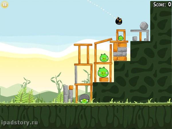 Angry Birds iPad