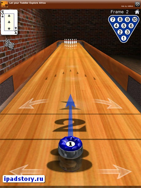 bowling iPad