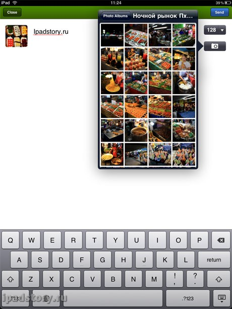 twitter на iPad
