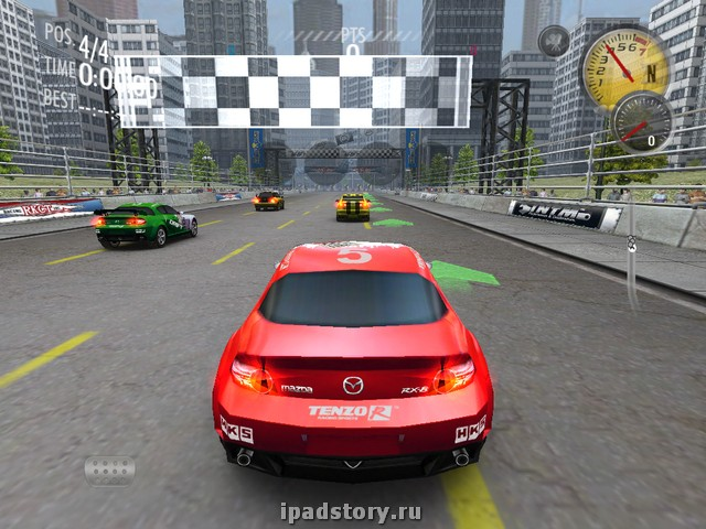 Need For Speed Shift на iPad