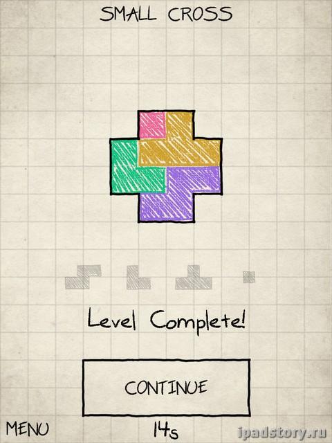головоломка на iPad