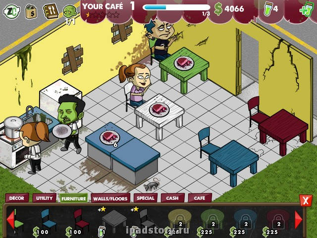 Games Zombie Cafe For Pc