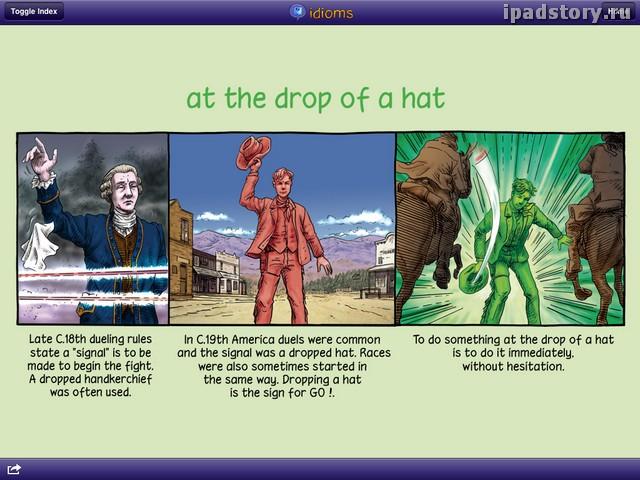 idioms iPad