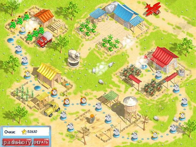 Солнечная ферма HD на iPad