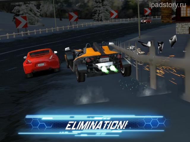 Asphalt 6: Adrenaline HD - гонки на iPad