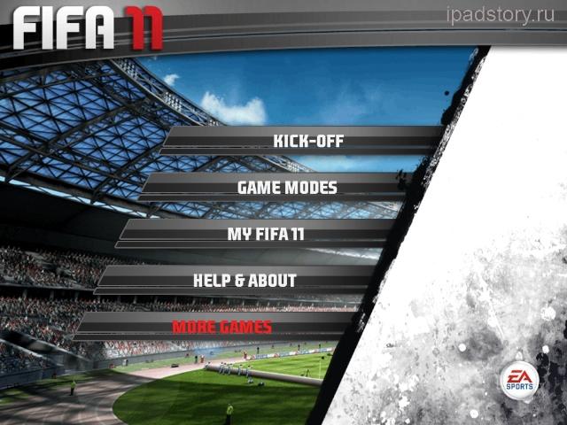fifa2011 ipad