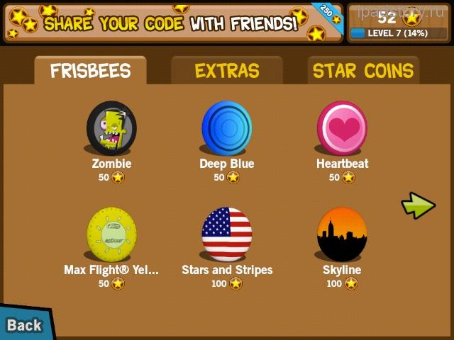 Frisbee forever фрисби iPad