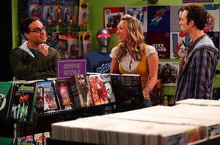 Теория большого взрыва - магазин комиксов