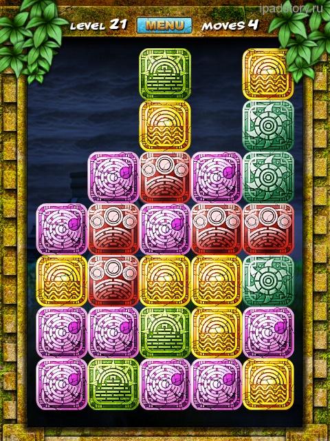 mayan puzzle ipad