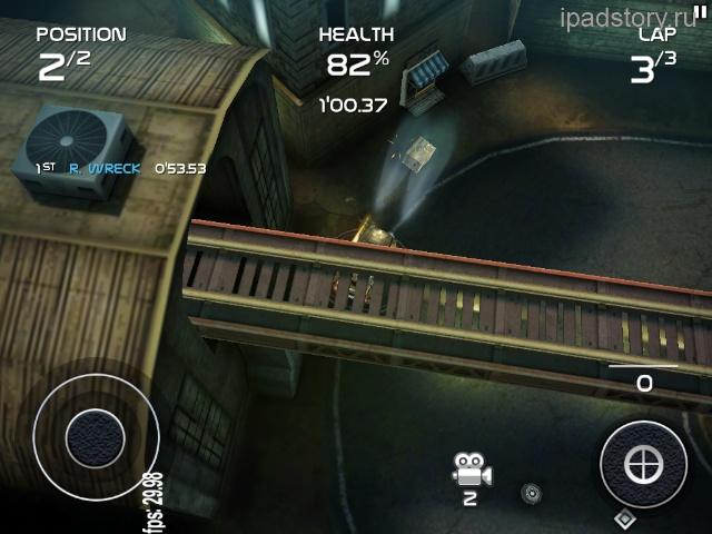 Death Rally iPad