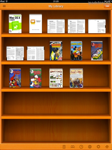 PDF/Comic Reader Bookman Pro for iPad