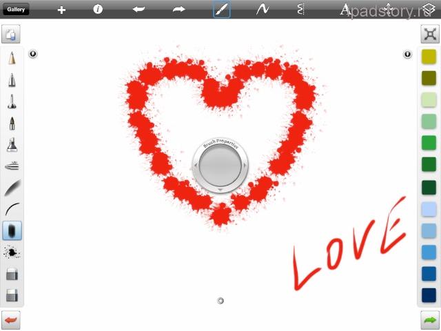 sketchbook pro на iPad