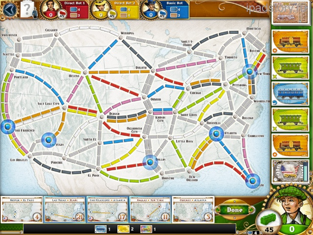 ticket to ride usa iPad