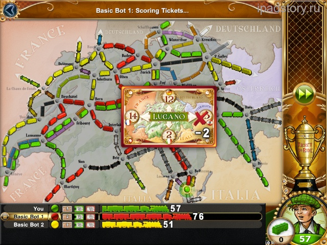 ticket to ride switzerland iPad