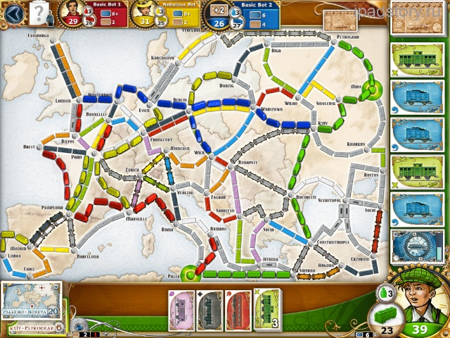 ticket to ride europe iPad