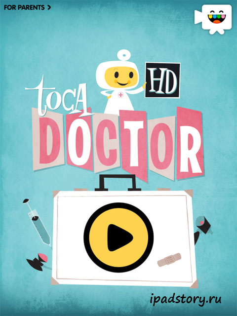 Toca Doctor на iPad