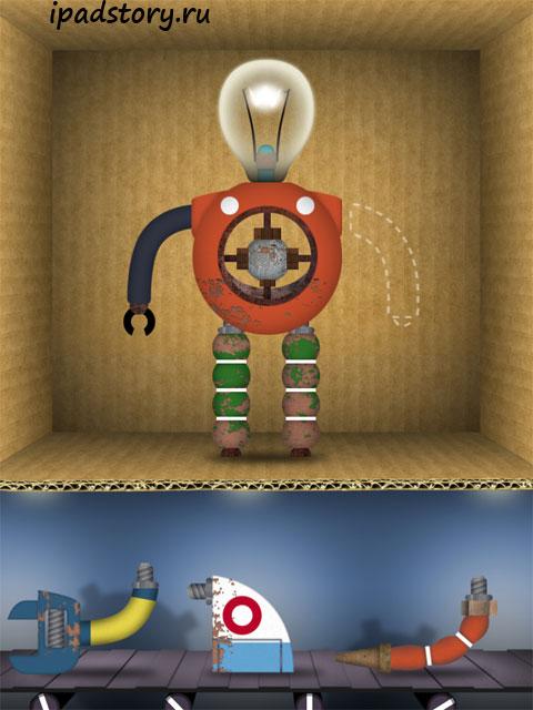 Toca Robot Lab на iPad