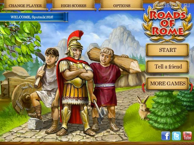 Дороги Рима на iPad