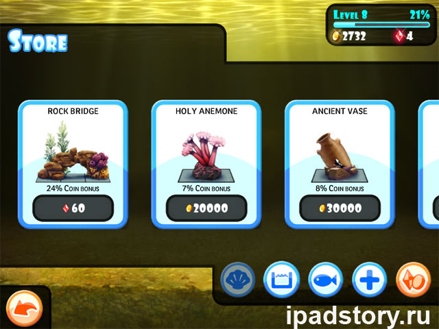 Planet Fish для iPad
