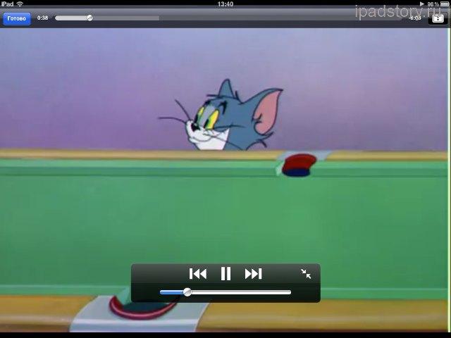 Мультфильмы на iPad