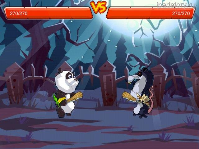 Крадущаяся панда, затаившийся лось
