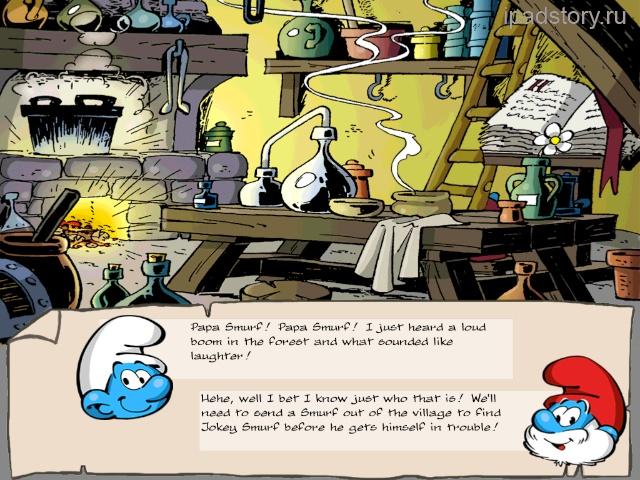 Smurfs Village iPad