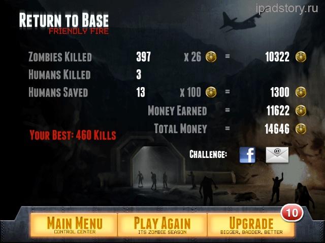 Zombie Gunship iPad