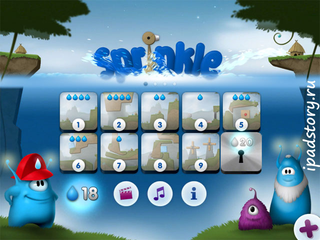 Sprinkle: Water splashing fire fighting fun