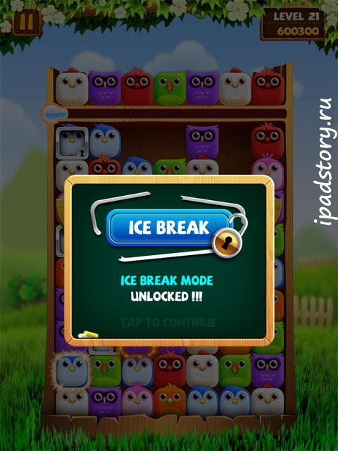 Birzzle HD на iPad ледовый режим