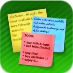 ABCNotes — красивые cтикеры на iPad