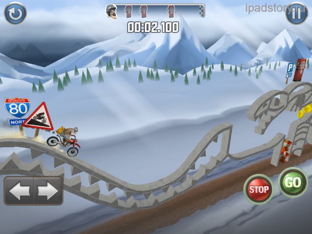 Bike Baron iPad