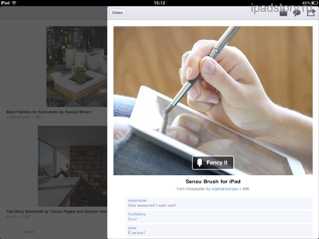 Fancy iPad