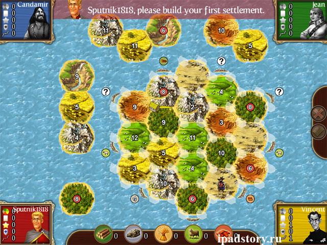 Drought (Засуха) - карта в игре Катан для iPad