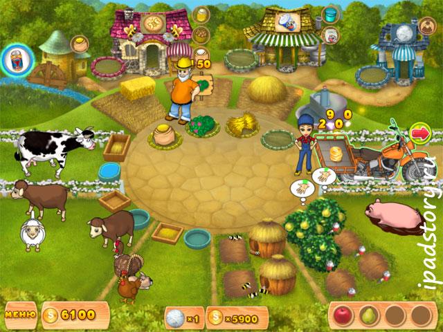 Farm Mania HD - Ферма Мания на iPad
