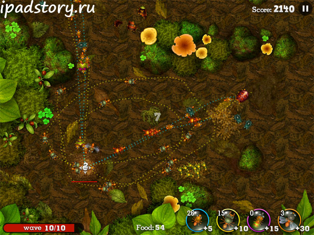 Anthill: Tactical Trail Defence на iPad