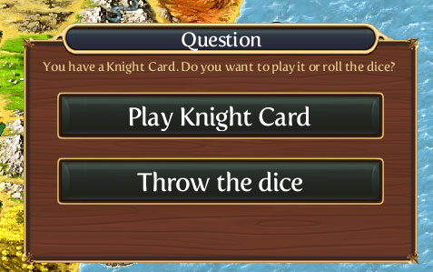 Knight Card, инструкция по игре Катан на iPad