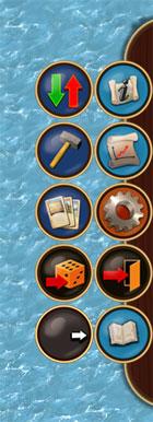 меню игры Катан на iPad