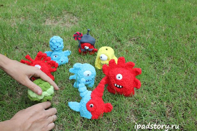 Jelly Defense – вязаные игрушки из игры