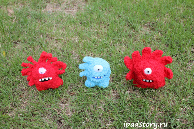 Jelly Defense - вязаные герои игры