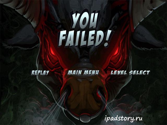 Requiem HD -  бежим и спотыкаемся на iPad