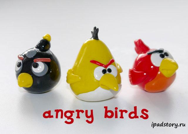 Желтая птичка Angry birds