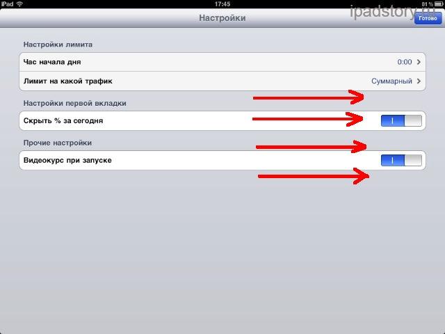 Жесты многозадачности на iPad