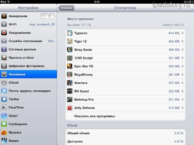 Статистика в iOS5