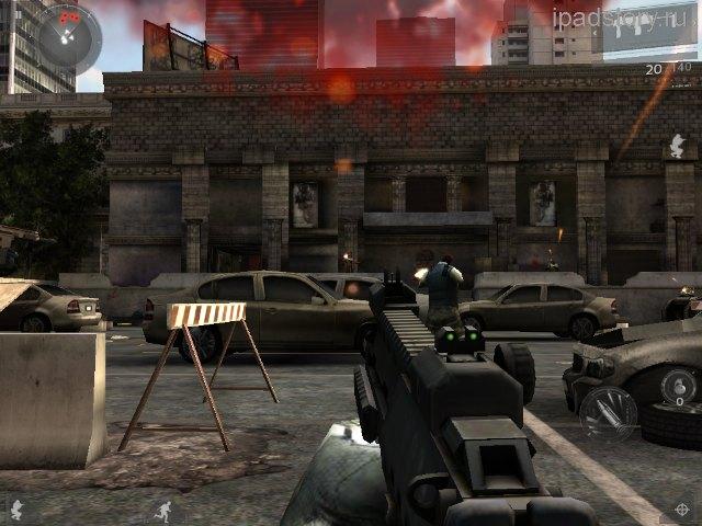 Modern Combat 3 iPad