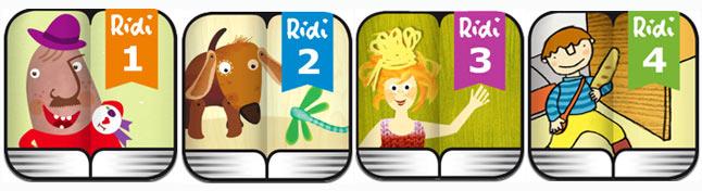 Интерактивные книги через компании Ridili