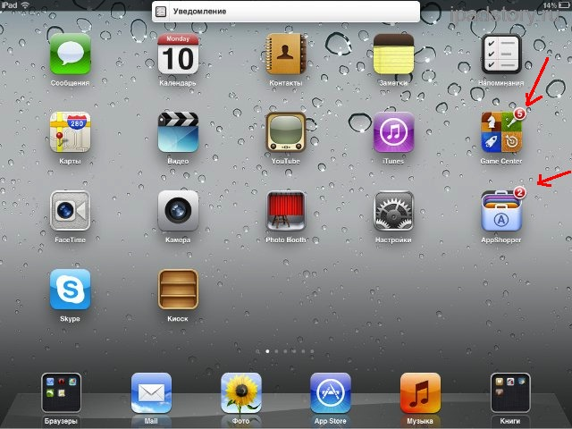 Уведомления iOS 5