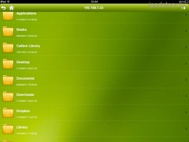 AcePlayer на iPad