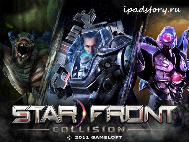 Starfront: collision HD – заставка игры